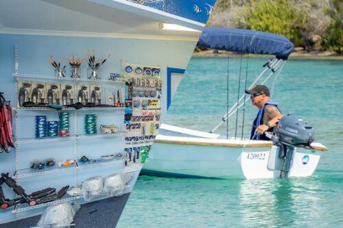 Boat, Bait and Rod Hire