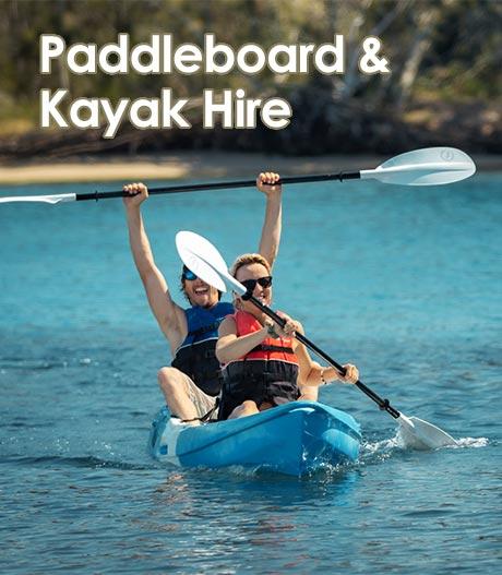Paddleboard and Kayak Hire